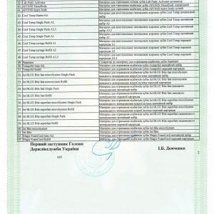 Свидетельство о государственной регистрации № 12035/2012