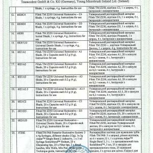 Свідоцтво про державну реєстрацію № 12339/2012